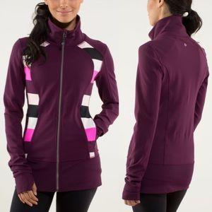 Lululemon Nice Asana Jacket Sz 4